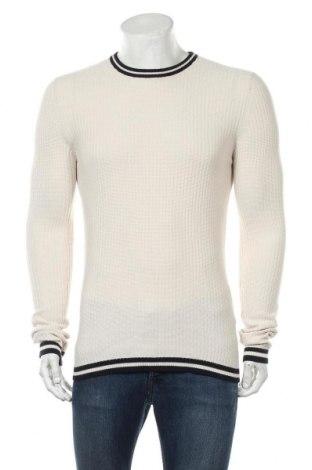 Мъжки пуловер Brave Soul, Размер L, Цвят Екрю, Памук, Цена 19,47лв.