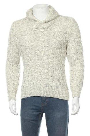 Мъжки пуловер Express, Размер S, Цвят Екрю, 69% акрил, 18% вълна, 11% вълна от алпака, 2% други нишки, Цена 17,90лв.