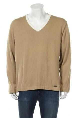 Ανδρικό πουλόβερ Joop!, Μέγεθος XL, Χρώμα  Μπέζ, 56% βαμβάκι, 44% πολυαμίδη, Τιμή 15,51€