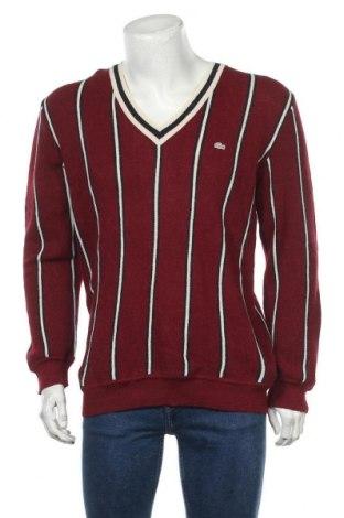Ανδρικό πουλόβερ Lacoste, Μέγεθος L, Χρώμα Κόκκινο, Μαλλί από αλπακά, Τιμή 31,46€