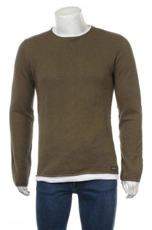 Pánský svetr  Tiffosi, Velikost L, Barva Zelená, Bavlna, Cena  750,00Kč
