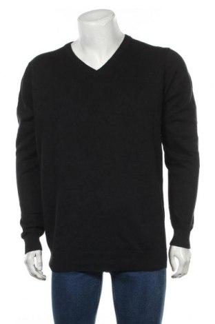 Ανδρικό πουλόβερ Vrs, Μέγεθος XL, Χρώμα Μαύρο, Βαμβάκι, Τιμή 27,02€