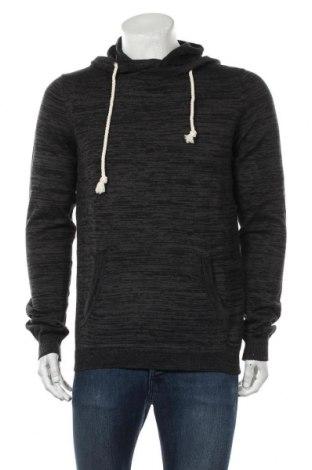 Мъжки пуловер Your Turn, Размер M, Цвят Сив, Памук, Цена 31,27лв.
