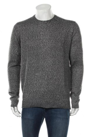 Мъжки пуловер Your Turn, Размер M, Цвят Сив, Полиестер, Цена 26,95лв.