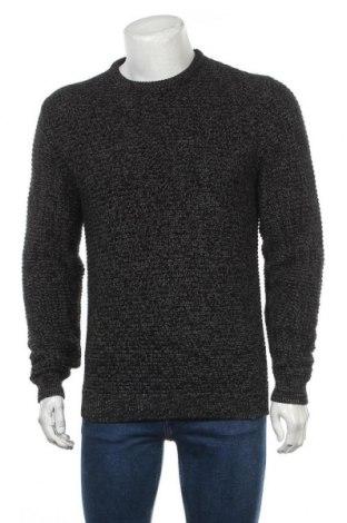 Мъжки пуловер Your Turn, Размер M, Цвят Сив, Памук, Цена 32,45лв.
