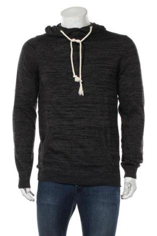 Мъжки пуловер Your Turn, Размер M, Цвят Сив, Памук, Цена 25,30лв.