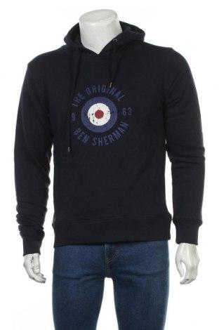 Pánská mikina  Ben Sherman, Velikost M, Barva Modrá, 60% bavlna, 40% polyester, Cena  711,00Kč