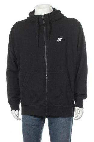 Мъжки суичър Nike, Размер XL, Цвят Черен, 80% памук, 20% полиестер, Цена 60,75лв.