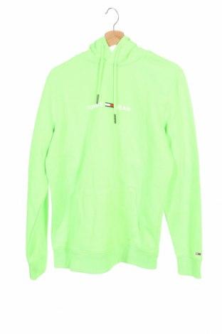 Męska bluza Tommy Hilfiger, Rozmiar L, Kolor Zielony, 60% poliester, 40% bawełna, Cena 146,25zł