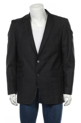 Мъжко сако, Размер XL, Цвят Черен, 98% вълна, 2% еластан, Цена 7,61лв.