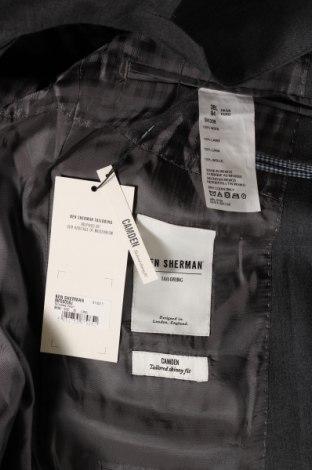Мъжко сако Ben Sherman, Размер M, Цвят Сив, Вълна, Цена 32,37лв.
