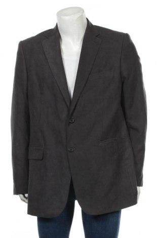 Мъжко сако Gino Marcello, Размер XL, Цвят Сив, Полиестер, Цена 8,30лв.