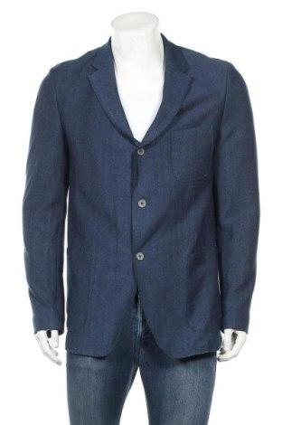 Мъжко сако Otto Kern, Размер XL, Цвят Син, 75% памук, 25% полиамид, 5% еластан, Цена 29,96лв.