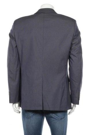 Мъжко сако Otto Kern, Размер L, Цвят Син, 76% памук, 22% полиестер, 2% еластан, Цена 27,01лв.