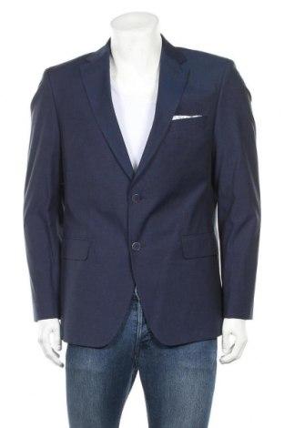 Мъжко сако Otto Kern, Размер L, Цвят Син, 95% памук, 5% еластан, Цена 38,85лв.