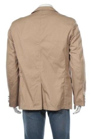 Мъжко сако Otto Kern, Размер L, Цвят Бежов, 98% памук, 2% еластан, Цена 36,26лв.