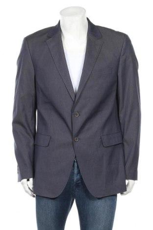 Мъжко сако Otto Kern, Размер L, Цвят Син, 76% памук, 22% полиестер, 2% еластан, Цена 24,01лв.