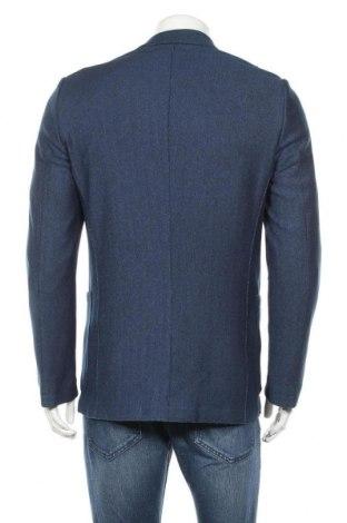 Мъжко сако Otto Kern, Размер L, Цвят Син, 75% памук, 25% полиамид, 5% еластан, Цена 38,24лв.