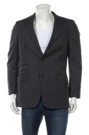 Мъжко сако Suitsupply, Размер M, Цвят Син, Вълна, Цена 58,50лв.