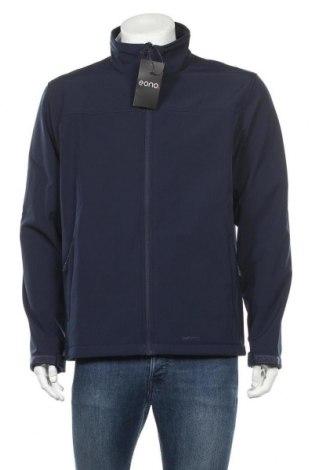 Мъжко спортно яке, Размер L, Цвят Син, 96% полиестер, 4% еластан, Цена 30,36лв.