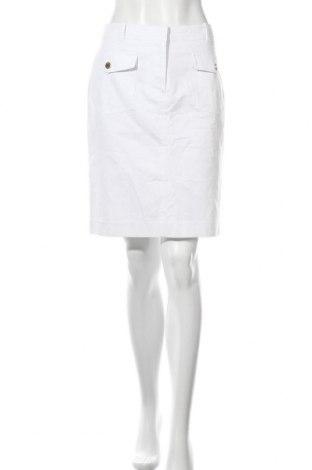 Пола Cortefiel, Размер L, Цвят Бял, 97% памук, 3% еластан, Цена 16,54лв.