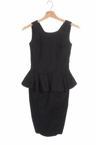 Φόρεμα Cue, Μέγεθος XS, Χρώμα Μαύρο, 98% βαμβάκι, 2% ελαστάνη, Τιμή 14,72€