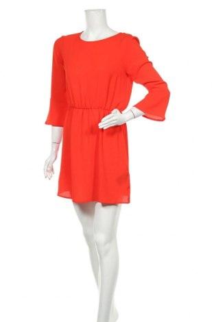 Рокля H&M Divided, Размер M, Цвят Червен, 97% полиестер, 3% еластан, Цена 10,73лв.