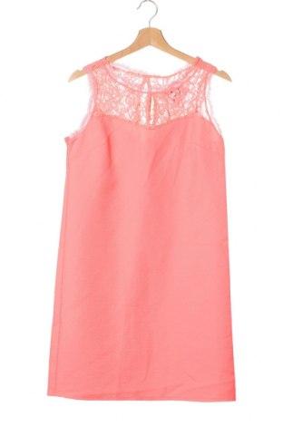 Šaty  Naf Naf, Velikost XS, Barva Růžová, Polyester, Cena  259,00Kč
