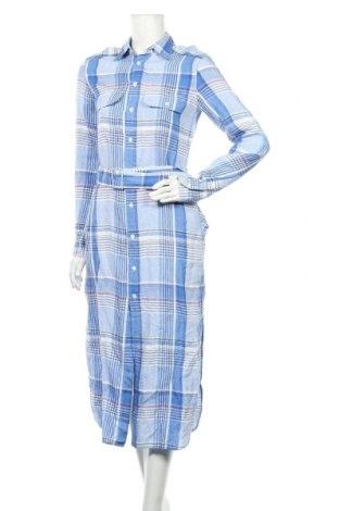 Šaty  Polo By Ralph Lauren, Velikost M, Barva Modrá, 97% len, 3% bavlna, Cena  970,00Kč