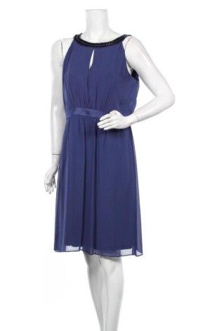 Šaty  S.Oliver, Velikost XL, Barva Modrá, 95% polyester, 5% elastan, Cena  686,00Kč
