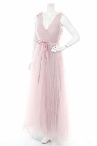 Рокля Th&Th, Размер XL, Цвят Розов, Полиестер, Цена 66,15лв.