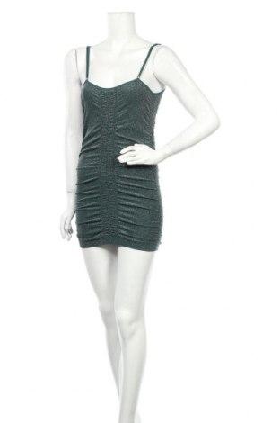 Рокля Urban Outfitters, Размер S, Цвят Зелен, 90% полиамид, 6% еластан, 4% метални нишки, Цена 16,18лв.