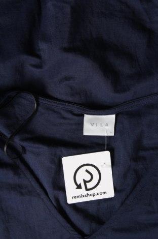 Рокля Vila, Размер XL, Цвят Син, 53% вискоза, 47% полиамид, Цена 43,50лв.