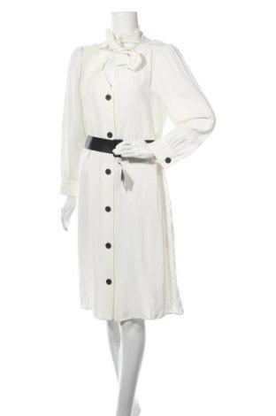 Rochie Zara, Mărime L, Culoare Ecru, 90% viscoză, 10% lână, Preț 97,60 Lei