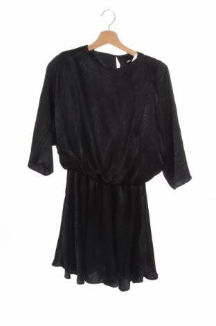 Šaty  Zara, Velikost XS, Barva Černá, Polyester, Cena  325,00Kč