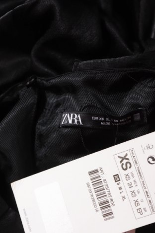Šaty  Zara, Velikost XS, Barva Černá, Polyester, Cena  641,00Kč