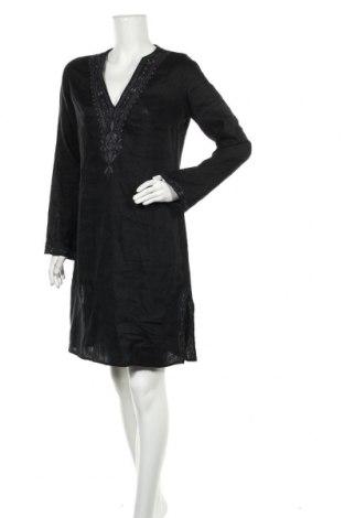 Šaty  Zara, Velikost L, Barva Černá, Len, Cena  313,00Kč
