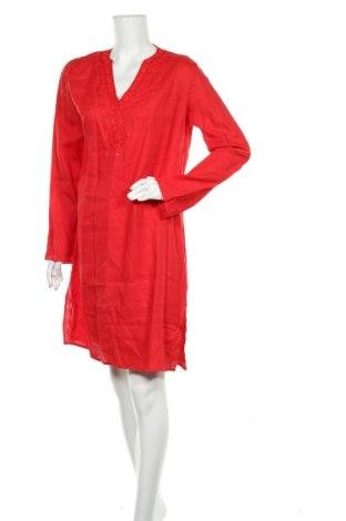 Šaty  Zara, Velikost L, Barva Červená, Len, Cena  327,00Kč