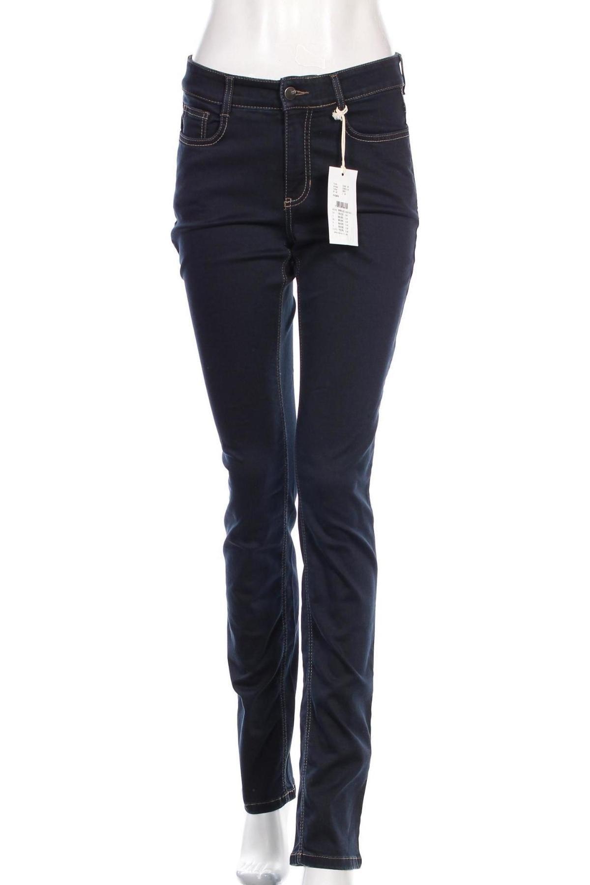 Дамски дънки Mac, Размер S, Цвят Син, 92% памук, 5% полиестер, 3% еластан, Цена 15,39лв.