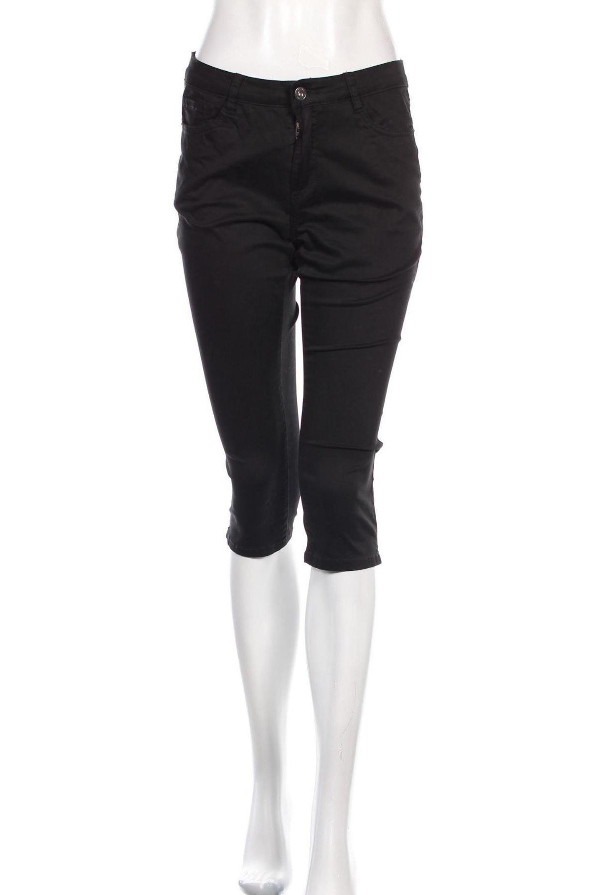 Дамски панталон Geisha, Размер M, Цвят Черен, 97% памук, 3% еластан, Цена 7,37лв.