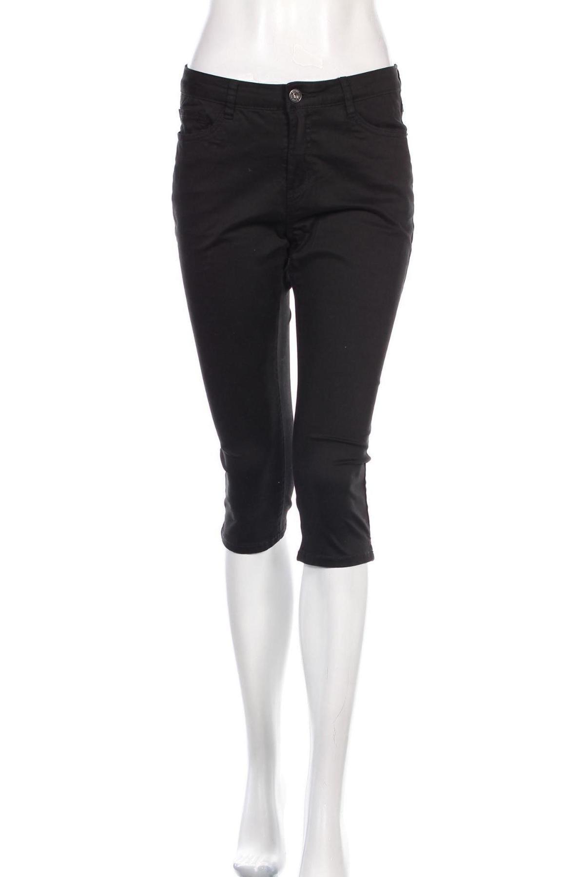 Дамски панталон Geisha, Размер M, Цвят Черен, 97% памук, 3% еластан, Цена 66,75лв.