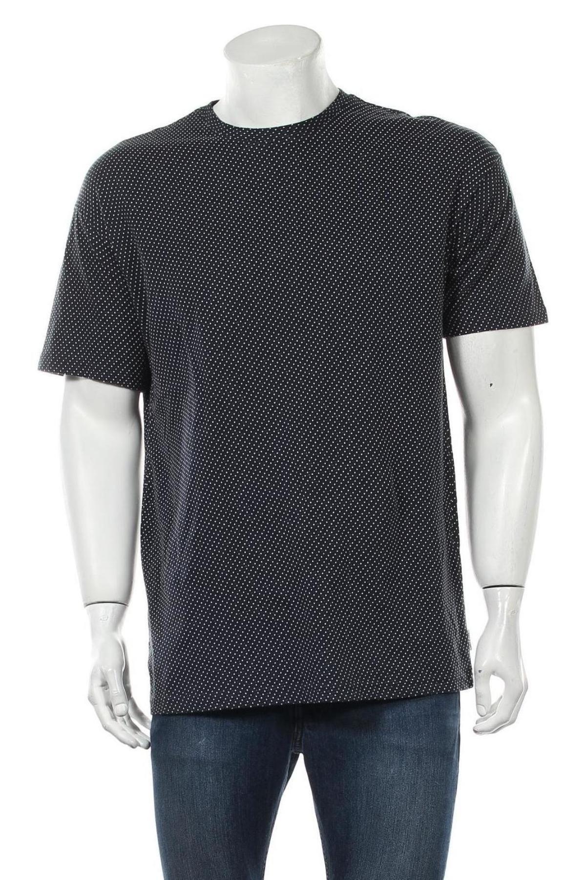 Мъжка тениска Only & Sons, Размер M, Цвят Син, Памук, Цена 21,00лв.