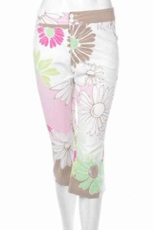 Дамски панталон Oui, Размер S, Цвят Многоцветен, 96% памук, 4% еластан, Цена 8,10лв.
