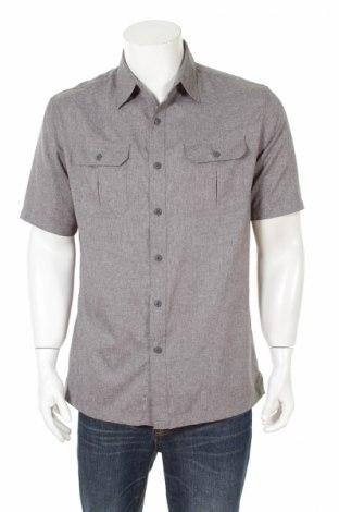 Pánska košeľa  Croft & Barrow, Veľkosť M, Farba Sivá, Polyester, Cena  2,22€