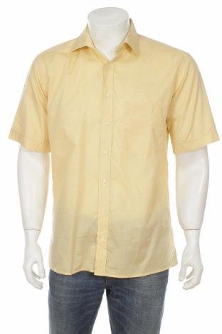 Мъжка риза Eterna, Размер M, Цвят Жълт, Цена 3,40лв.