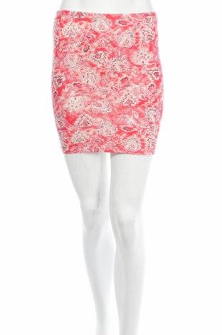 Φούστα Bershka, Μέγεθος S, Χρώμα Κόκκινο, 96% βαμβάκι, 4% ελαστάνη, Τιμή 4,22€
