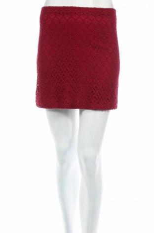 Пола Exhibit, Размер S, Цвят Червен, 60% памук, 40% полиамид, Цена 4,59лв.
