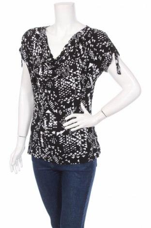 Дамска блуза Liv, Размер S, Цвят Черен, 96% вискоза, 4% еластан, Цена 4,60лв.