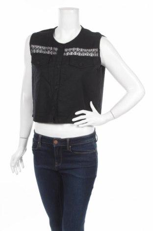 Дамска риза Zephirus, Размер S, Цвят Черен, Цена 5,72лв.
