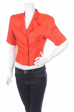 Γυναικείο πουκάμισο Bramante, Μέγεθος S, Χρώμα Πορτοκαλί, Τιμή 12,33€
